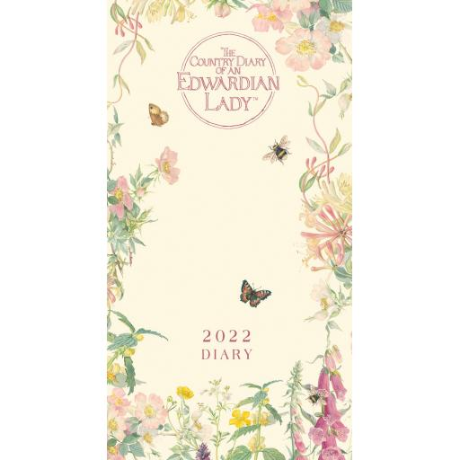 Country Diary of an Edwardian Lady Slim Diary 2022