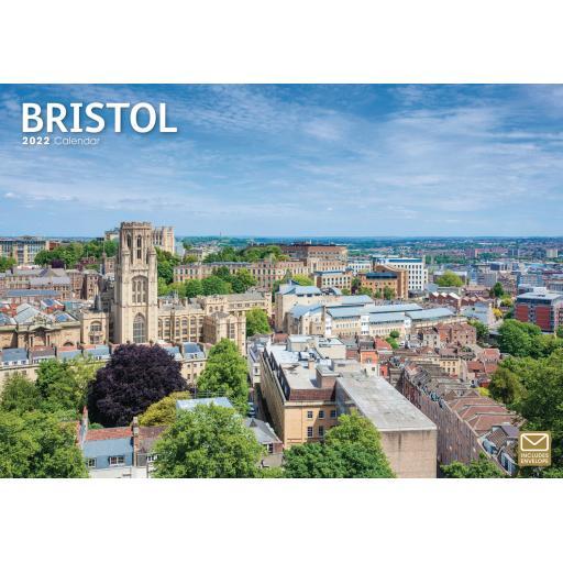 Bristol A4 Calendar 2022