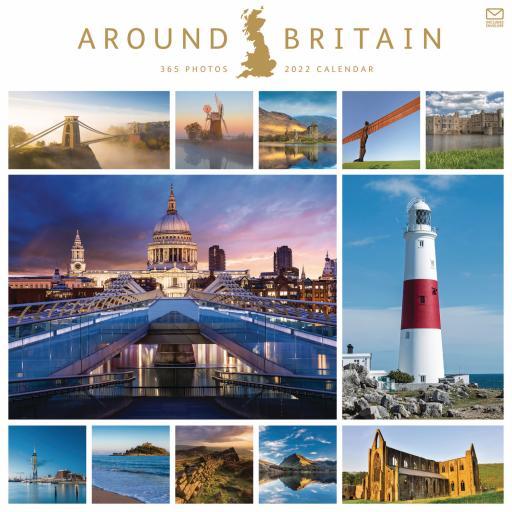 Around Britain Wall Calendar 2022