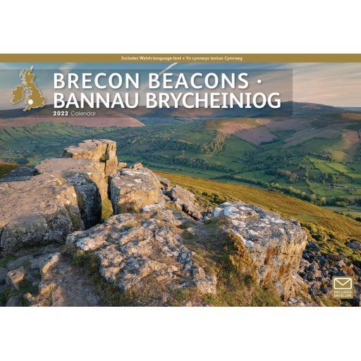 Brecon Beacons A4 Calendar 2022