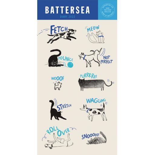 Battersea Slim Diary 2022