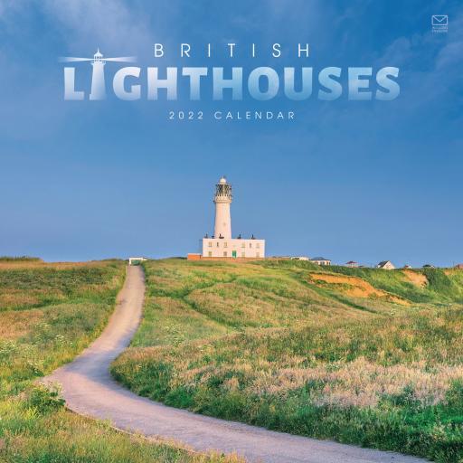 British Lighthouses Wall Calendar 2022