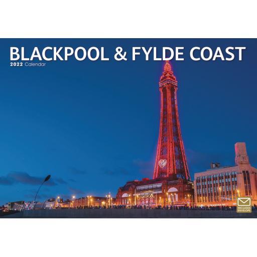 Blackpool & Fylde Coast A4 Calendar 2022