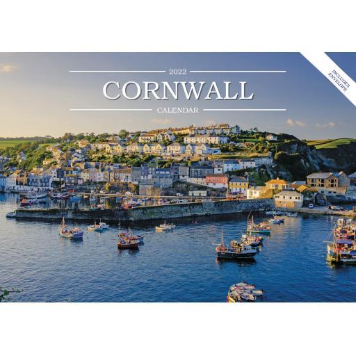 Cornwall A5 Calendar 2022
