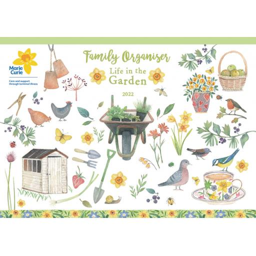 Life in The Garden MTV A4 Planner 2022
