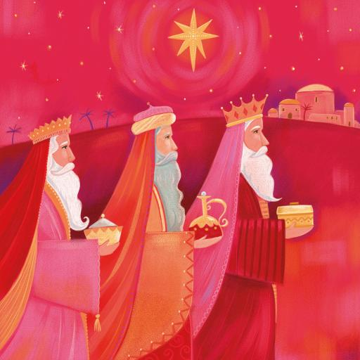 Charity Christmas Card Pack - Wise Men