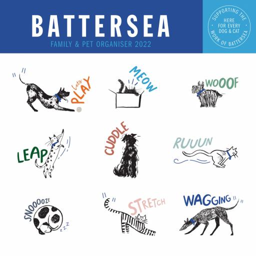 Battersea WTV Wall Planner 2022