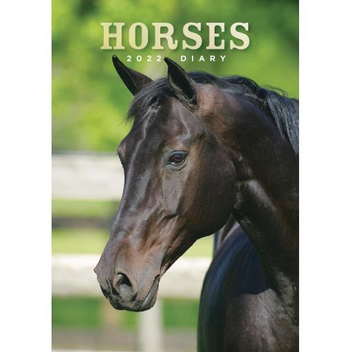 Horses A5 Diary 2022