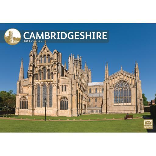 Cambridgeshire A4 Calendar 2022