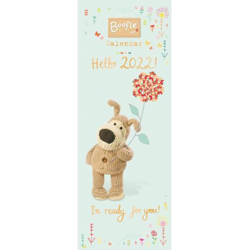 Boofle Slim Calendar 2022