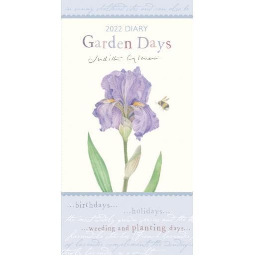 Garden Days Slim Diary 2022