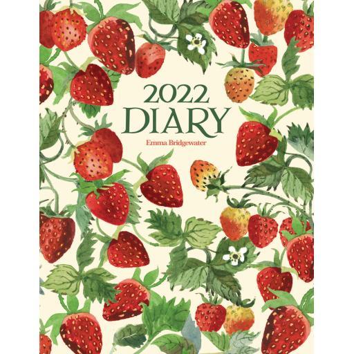 Emma Bridgewater Vegetable Garden Strawberries Dlx Diary 2022