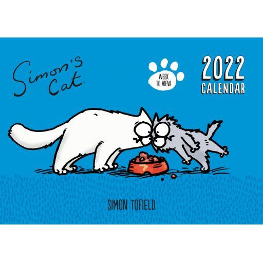 Simons Cat WTV A4 Planner 2022