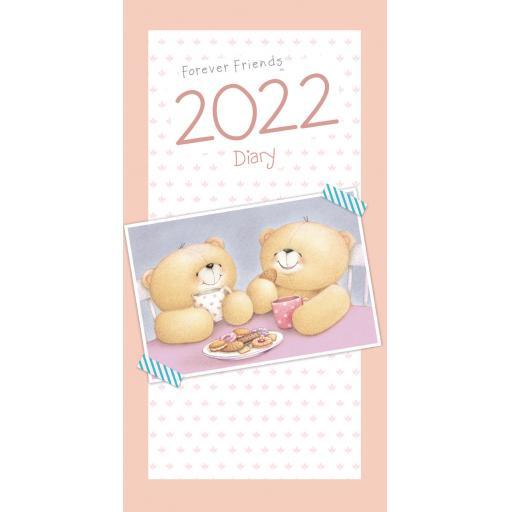 Forever Friends Slim Diary 2022