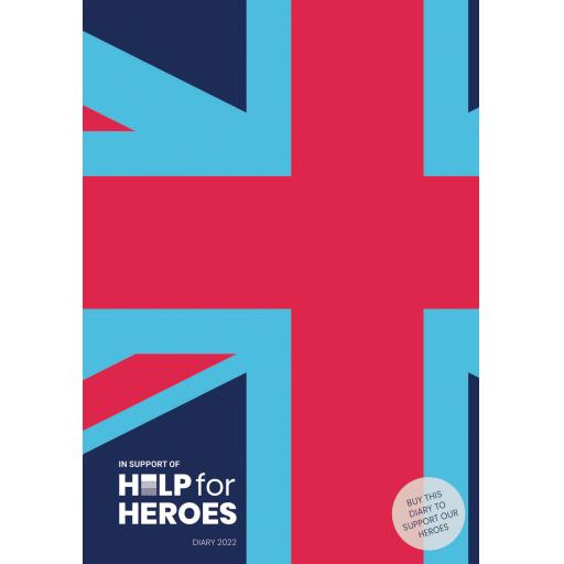 Help For Heroes A5 Diary 2022