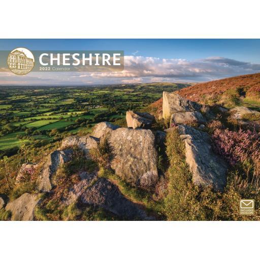 Cheshire A4 Calendar 2022