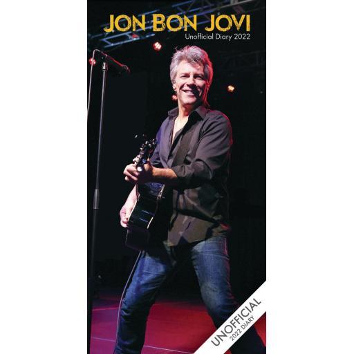Jon Bon Jovi Slim Diary 2022