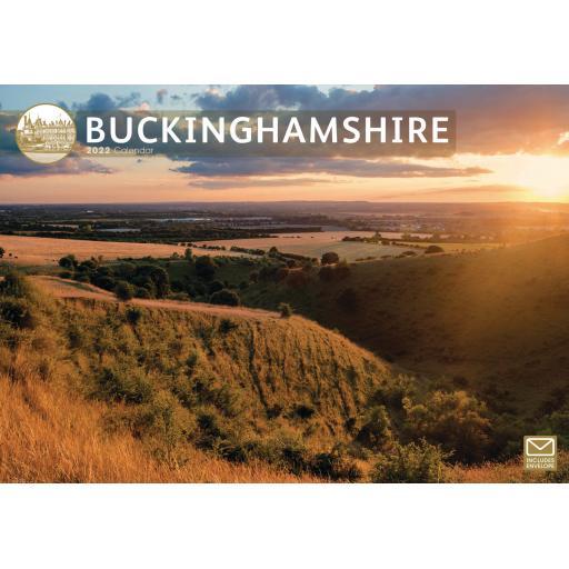 Buckinghamshire A4 Calendar 2022