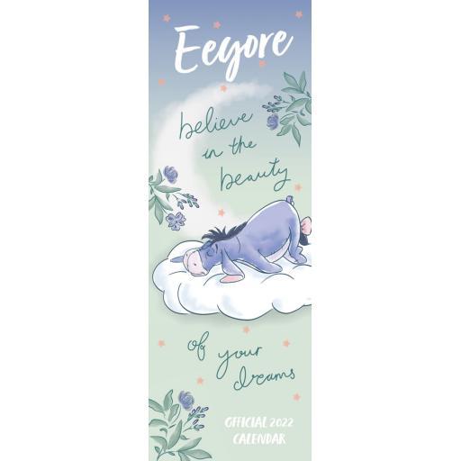 Eeyore Slim Calendar 2022