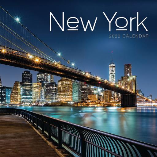New York Mini Wall Calendar 2022