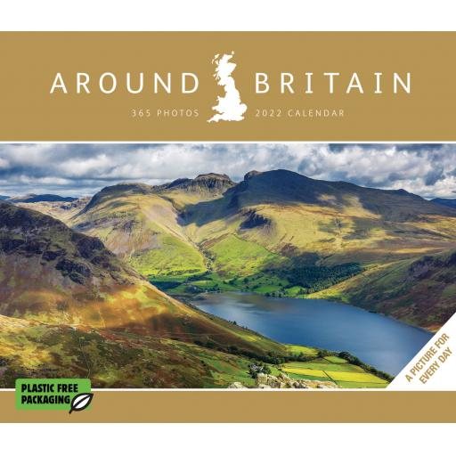Around Britain Boxed Calendar 2022