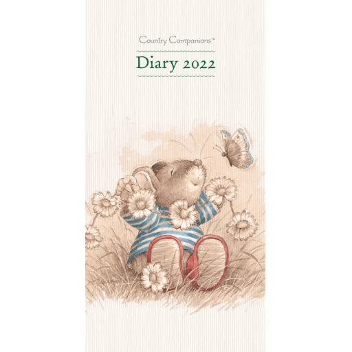 Country Companions Slim Diary 2022