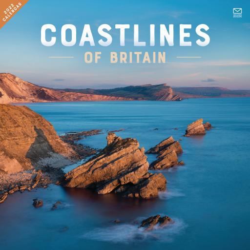 Coastlines of Britain Wall Calendar 2022