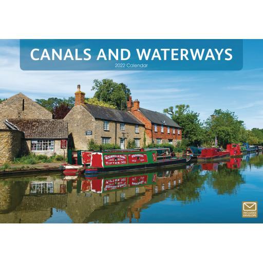 Canals & Waterways A4 Calendar 2022