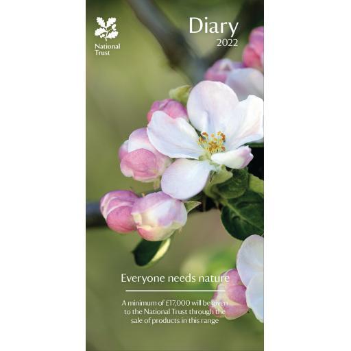 National Trust Slim Diary 2022