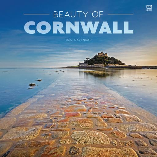Beauty of Cornwall Wall Calendar 2022