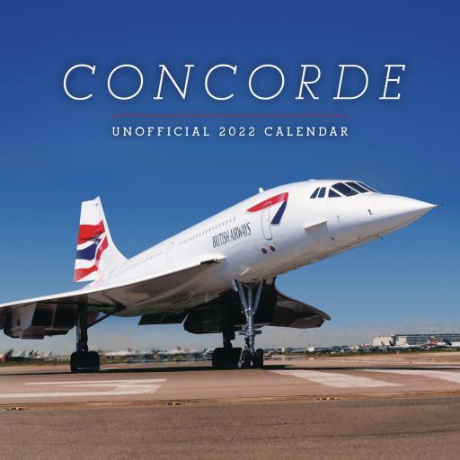 Concorde Wall Calendar 2022